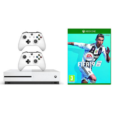 Imagine Consola Xbox One S 1 TB 2 manete